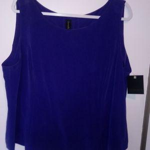Dana Buchman silk blouse